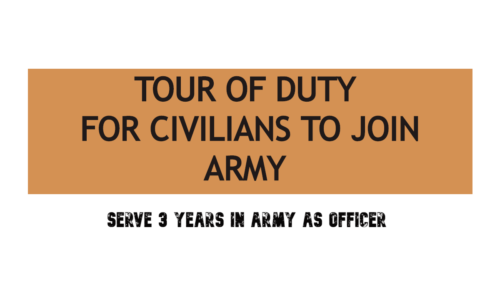 "Civilians can Now Join Indian Army for 3 Years ""Tour of Duty"" 2020"