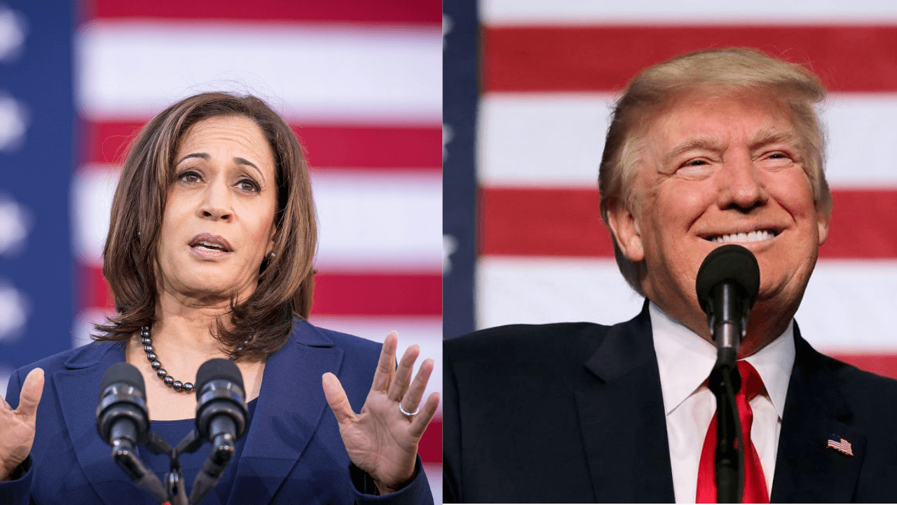 Kamala Harris Will Never Be President Of US Says DONALD TRUMP