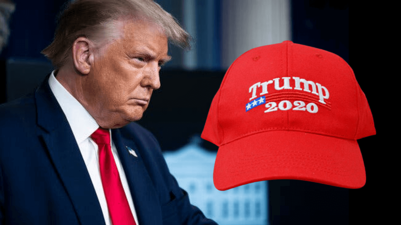 "Worker fired from shipyard for wearing Trump hat "" TRUMP 2020 """