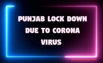 Punjab Lock Down Till 31st March - Govt. Announced